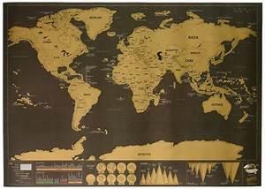 Carte Du Monde à Gratter Maison Du Monde : mapa del mundo para rascar regalos y chollos ~ Teatrodelosmanantiales.com Idées de Décoration