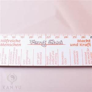 Feng Shui Deutsch : feng shui lineal 43 cm aluminium deutsche beschriftung ebay ~ Frokenaadalensverden.com Haus und Dekorationen