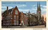 Marquette University and Gesu Church Milwaukee, WI