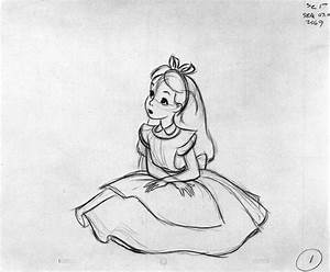 Animation Tidbits • Alice in Wonderland - Milt Kahl