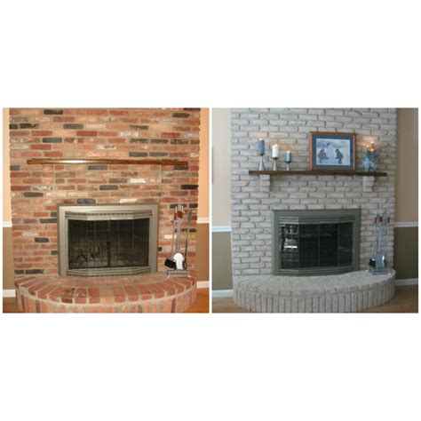 Paint Color To Match Brick Fireplace Fireplace Ideas