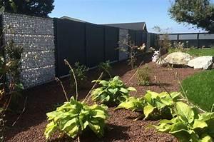 Cloture Et Jardin : amenagement cloture jardin creation espace vert djunails ~ Nature-et-papiers.com Idées de Décoration