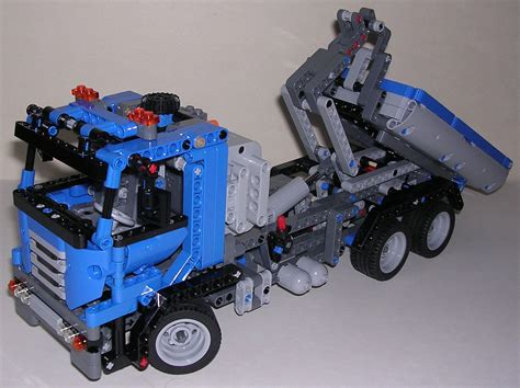 Techlugfr  Review Lego Technic #8052 Camion Benne