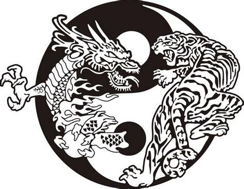 drawn tiger dragon  marblehead school  raja yoga