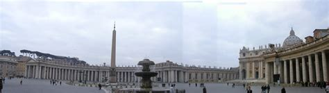 St. Peters Square Panorama