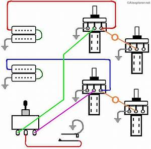 Paul 100 Electric Guitar Wiring Diagram