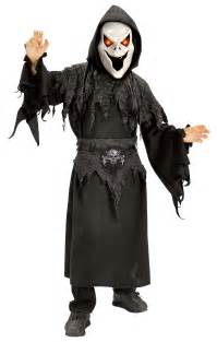 Howling Ghost Scary Kids Costume - Howling Ghost Scary Kids Costume Medium