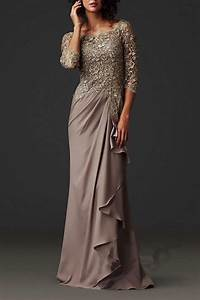 hot sale evening dresses 2015 lace sheer mother of the With formal wedding dresses for mother of the bride