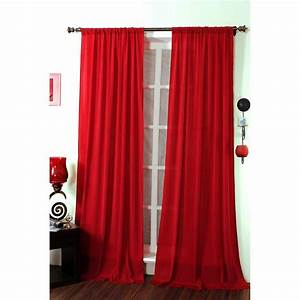 Red sheer curtains vintage living room design with for What kind of paint to use on kitchen cabinets for frame fabric wall art
