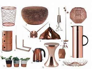 Deco Cuivre Rose : ma s lection d 39 accessoires et d coration en cuivre blog ~ Zukunftsfamilie.com Idées de Décoration