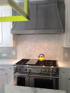 marble herringbone backsplash marble herringbone backsplash contemporary kitchen evars and anderson
