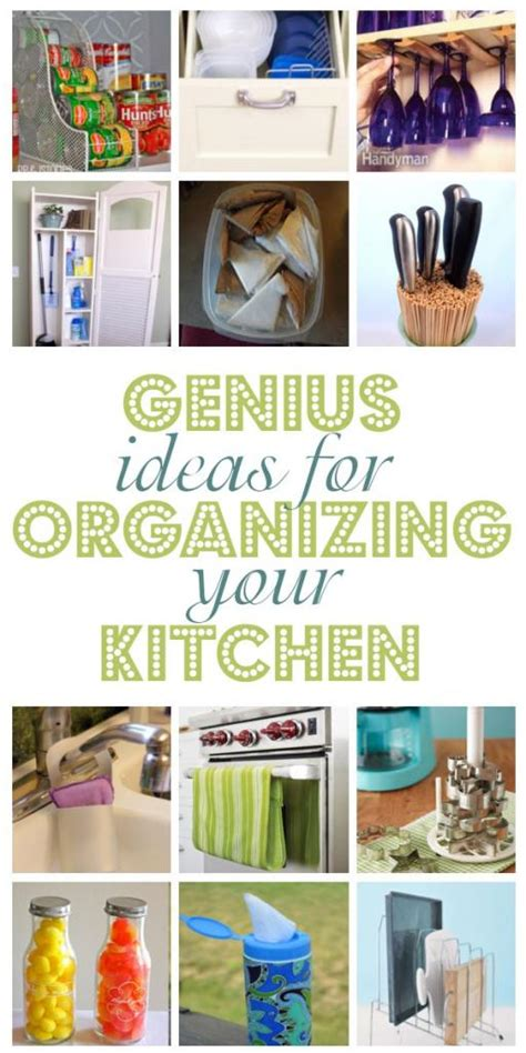 ideas to organize kitchen genius ideas for organizing your kitchen