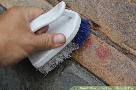 how to remove paint from concrete porch how to remove paint from a concrete porch 10 steps