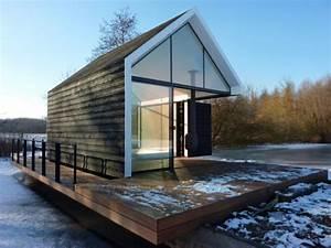 Maison Modulaire Bois : petite maison de vacances modulaire design ~ Melissatoandfro.com Idées de Décoration