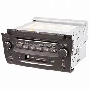 2006 Lexus Gs300 Radio Or Cd Player Radio