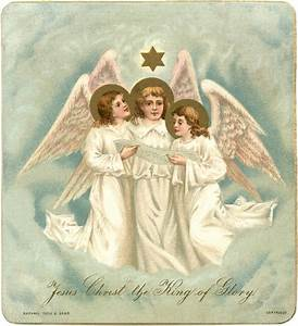 Christmas Angels Image - The Graphics Fairy