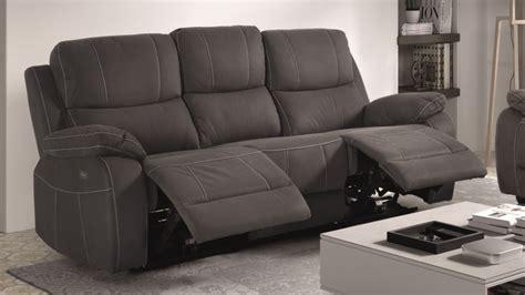 canapé repose jambes canapé de relaxation 3 places moderne en tissu