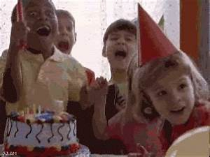 Birthday boy - crazed kid Gif