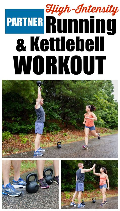 kettlebell running workout partner cardio intensity circuit training exercises carrotsncake workouts deadlift quick challenge