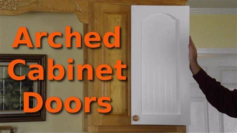 Making $10 Arched Cabinet Doors   YouTube