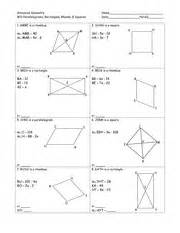 In the image attached you can find the unit 7 homework. UNIT 7 HOMEWORK 4 RHOMBI AND SQUARES