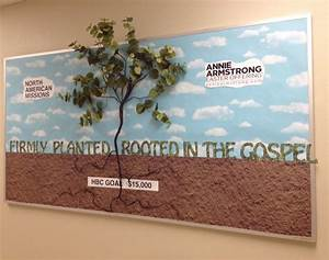 Planted    Rooted Bulletin Board  Maybe Use With Parts Of