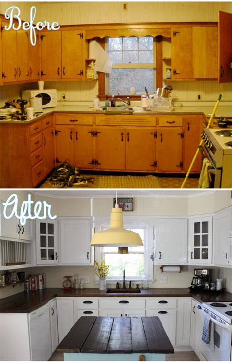 pretty    kitchen makeovers