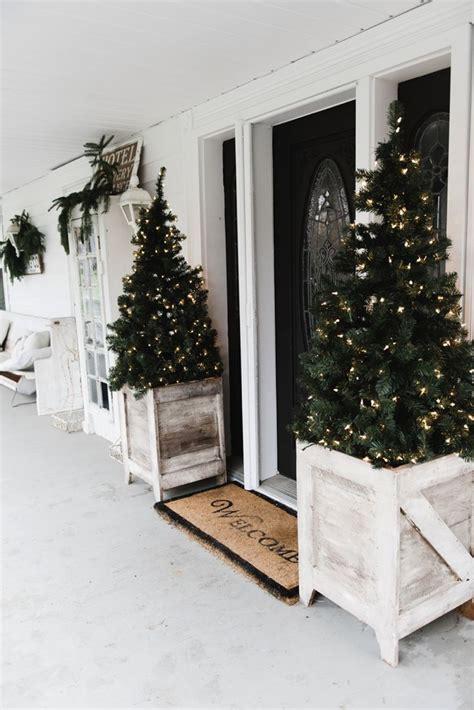 country ideas  outdoor christmas decor