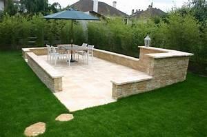 Terrasse Avec Muret : muret haut muret bas muret tr s haut ~ Premium-room.com Idées de Décoration