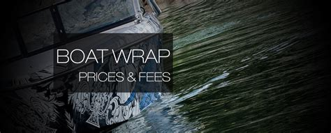 Boat Wraps Prices by General Wrap Pricing By Wakegraphics