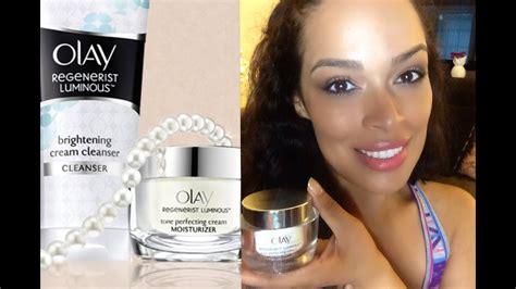 REVIEW: Olay Regenerist Luminous Tone Perfecting Cream
