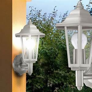 Lampen Für Terrasse : 2er set edelstahl wand leuchten au en beleuchtungen terrasse lampen ip44 lichter ebay ~ Sanjose-hotels-ca.com Haus und Dekorationen