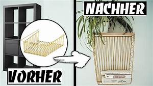Ikea Hack Regal : ikea upcycling kleines diy regal aus kallax drahtkorb ~ A.2002-acura-tl-radio.info Haus und Dekorationen