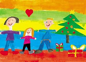 Gemalte Bilder Von Kindern : familienausflug zu gewinnen kinder malt uns weihnachtsbilder rhein zeitung rhein zeitung ~ Markanthonyermac.com Haus und Dekorationen