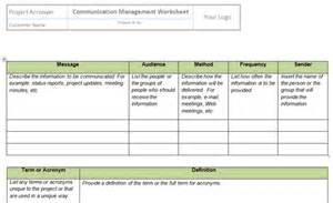 Pmo Templates Excel Manage Communications Templates Project Management Templates