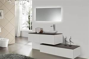ensemble de meubles de salle de bain spring 1500 blanc mat With meuble salle de bain blanc mat
