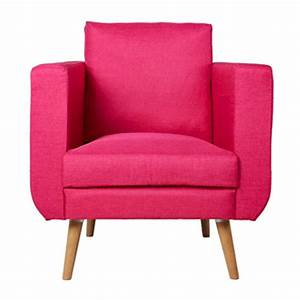 Fauteuil Club Tissu : fauteuil club bocky tissu rose ~ Teatrodelosmanantiales.com Idées de Décoration