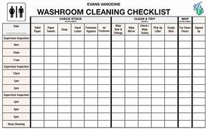 Toilet Cleaning Checklist Templates Find Word Templates