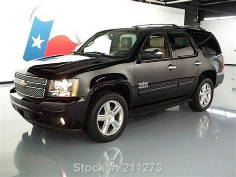 find   chevy tahoe lt tx edition htd leather dvd