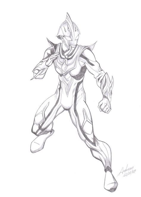 Ultraman Nexus Free Coloring Pages
