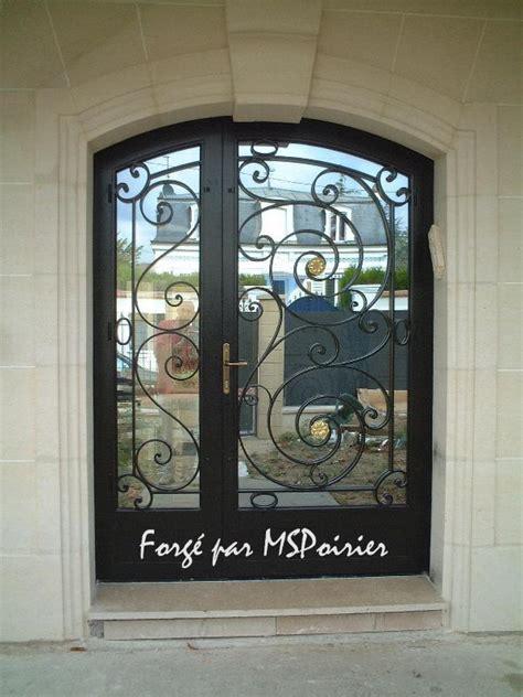 decoration des portes en fer porte en fer forg 233 mod 232 le louis xvi cr 233 ation ms poirier
