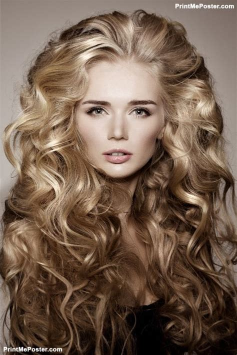 curly hair styles for homecoming 105 best salon posters images on mousepad 9374