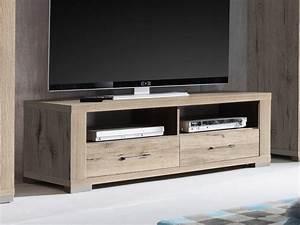 Tv Schrank Mit Rückwand : lowboard tv schrank fernsehschrank 134cm dekor sandeiche hell ~ Bigdaddyawards.com Haus und Dekorationen