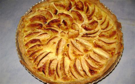cuisine tv samira recette tarte aux pommes façon normande pas chère et