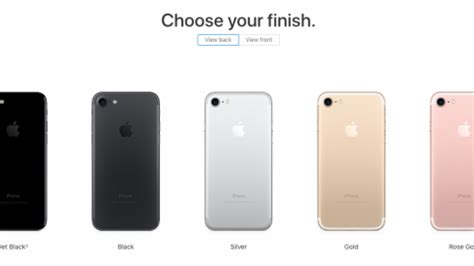 Colours Uk by Iphone 7 Colours Snap Up The Iphone X S Predecessor In
