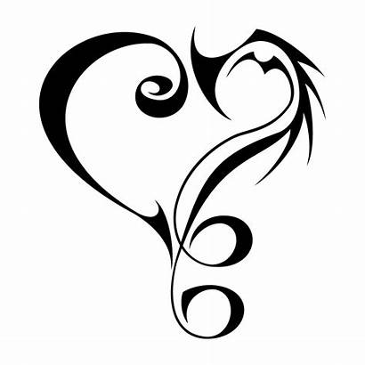 Tribal Heart Decal Border Transparent Decals Vippng