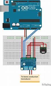 Bone Conduction Speaker Experiment Using I2c