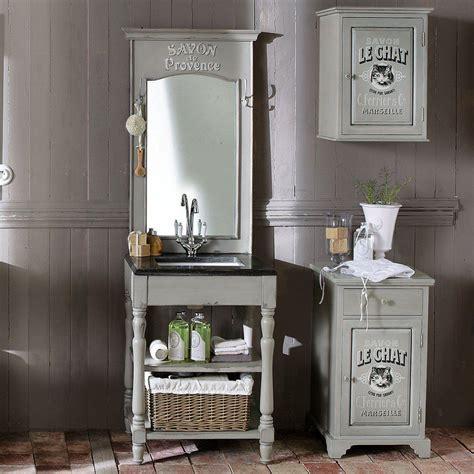 meuble une vasque salle de bain r 201 my maisons du monde maison de cagne meuble