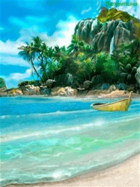 Animated Sea Wallpaper - animated sea shore wallpaper