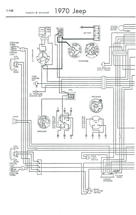 1967 Jeep Cj Wiring Diagram by 1971 Jeep Cj5 Wiring Diagram Help With Wiring Cj5 1969